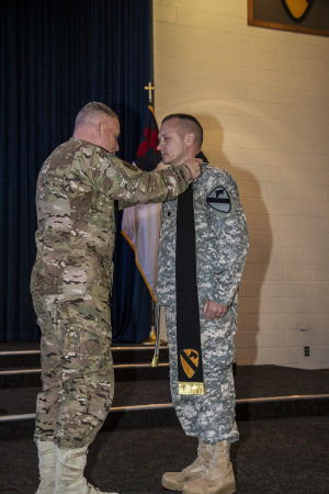 First Team welcomes new division chaplain