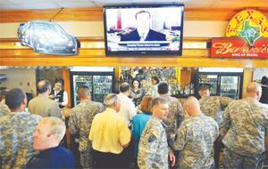 Fort Hood celebrates the opening of The Backbone, a new lounge just for noncommissioned officers