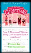 Here's a Coupon for a FREE Full Size Body Care Item from Bath & Body Works!