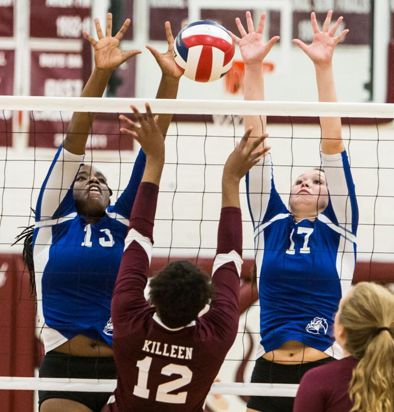 8-6A VOLLEYBALL: Lady Dawgs power past Killeen in 4 sets