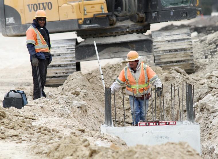 FM 2657 Construction Underway