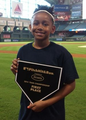 Emeana wins Pitch, Hit & Run championship