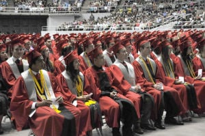 Heights HS graduation 2014