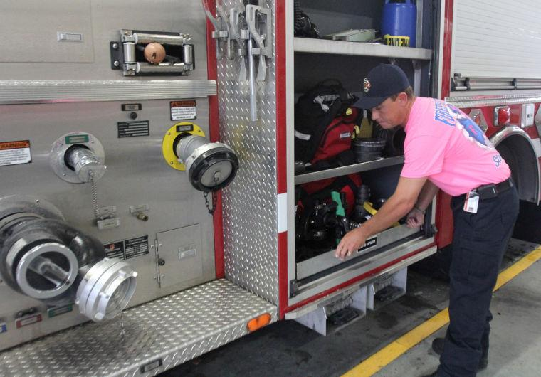 Copperas Cove Firefighters Support Breast Cancer Awareness