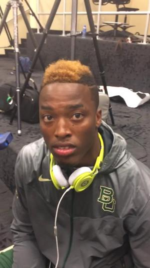 RB Johnny Jefferson speaks about Baylor debut