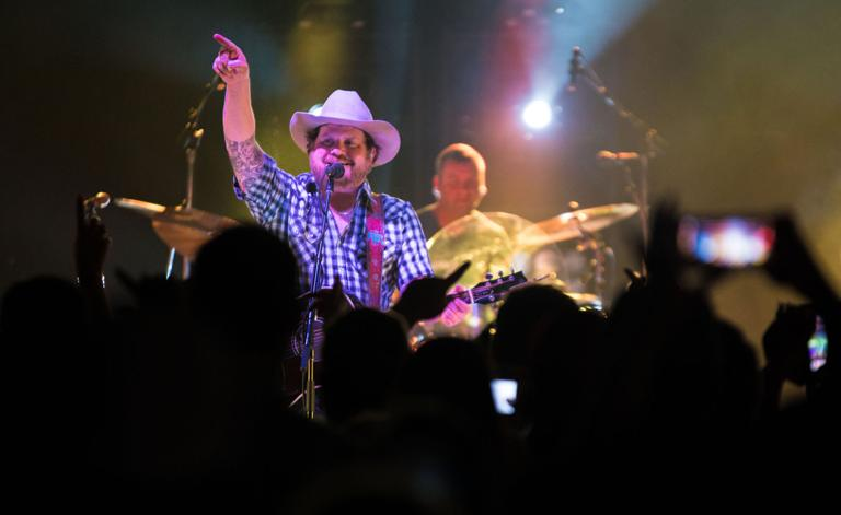 Randy Rogers performs at Johnny's Outback in Salado