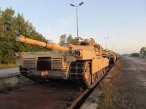 Armored brigade rotation