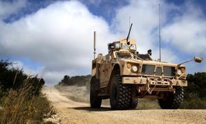 81st Civil Affairs Battalion MATV Training