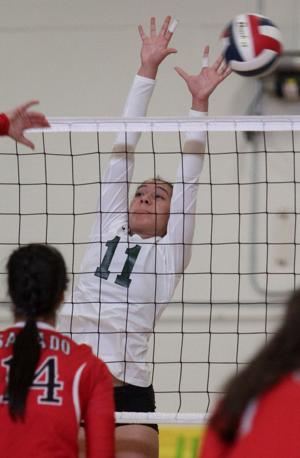 Ellison vs Salado Volleyball