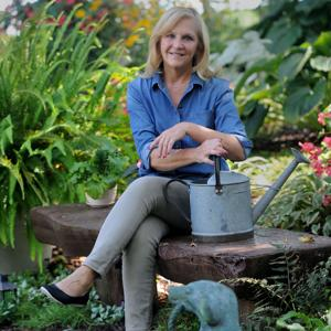 Garden makes lavish use of difficult space