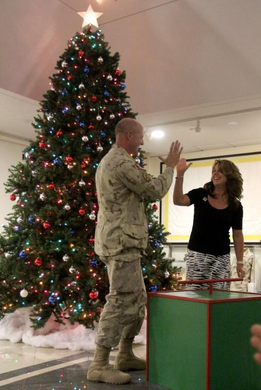 III Corps Tree Lighting