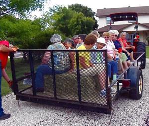 Maypole Ranch picnic