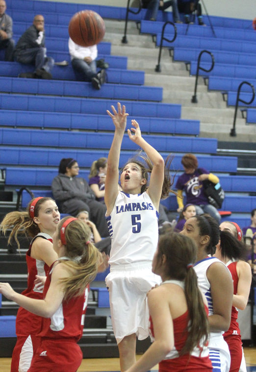 Girls Basketball: Lampasas v. Fredericksburg