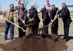 Groundbreaking at veterans cemetery