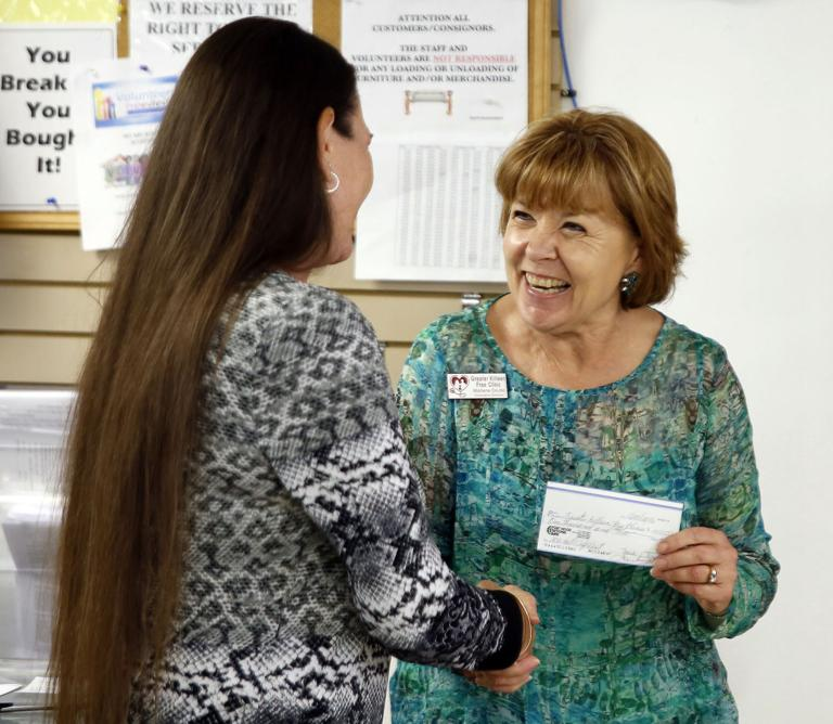 Fort Hood Thrift Shop awards big donations to local nonprofits