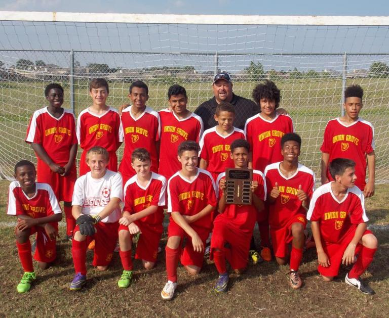 MIDDLE SCHOOL ROUNDUP: Union Grove sweeps boys soccer titles