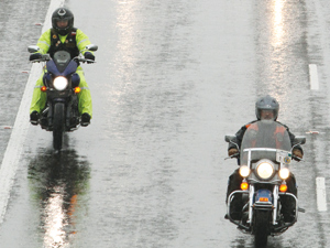 Hundreds of motorcyclists turn out for 19th Tri-County Toy Run Sunday