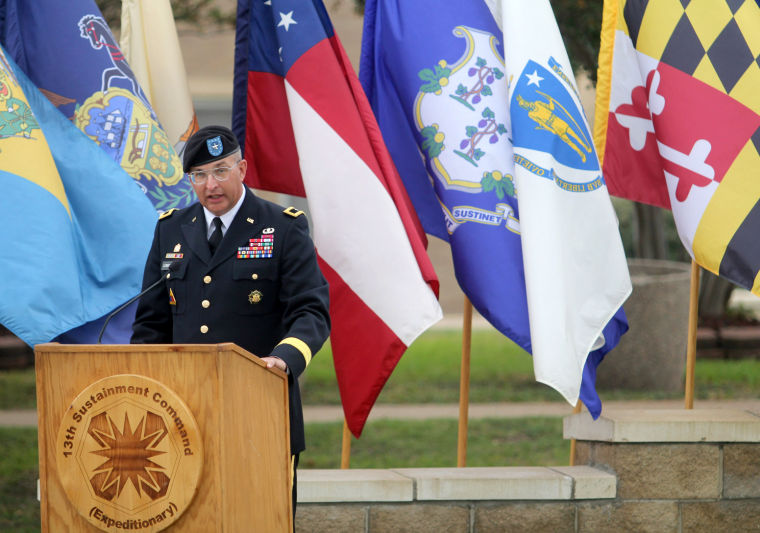 13th Sustainment Command Memorial Rededication Ceremony