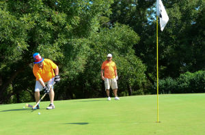 Children drive Golf Fore Education