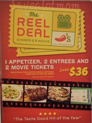 Chilis Movie Package!
