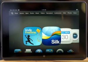 Kindle Fire HDX: The Amazon.com Inc., Kindle Fire HDX. The device is unapologetically aimed at mainstream users for whom content is far more important than the gadget it's being consumed on. - David Paul Morris | Bloomberg News