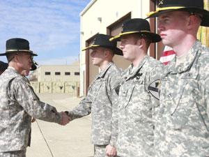 A bittersweet honor: Three 3rd Brigade soldiers receive Purple Heart