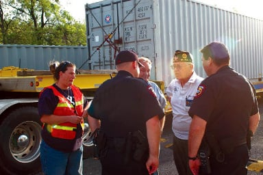American Legion takes action to remove containers