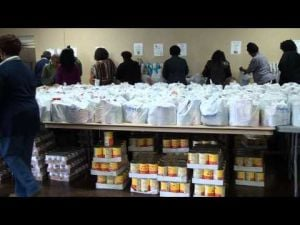 Refuge Corporation Thanksgiving baskets