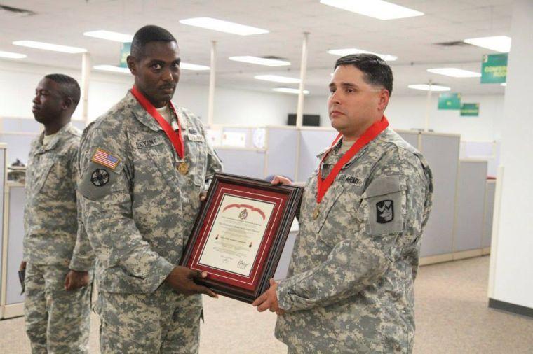 Ordinance award