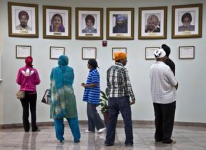 APTOPIX Sikh Temple Shooting Anniversary