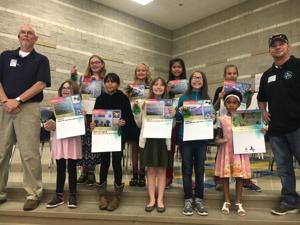 Clements/Parsons students make clean sweep of recycle calendar