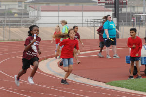Communities in Schools track meet