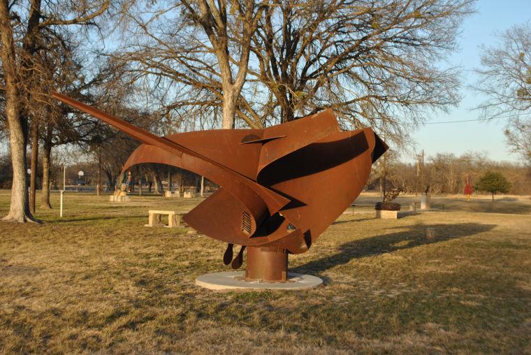 Campbell Park sculpture