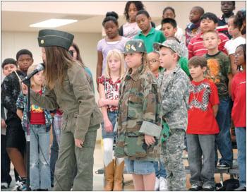 Cedar Valley students track down heroes