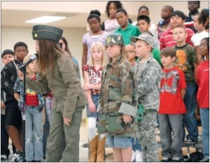 Cedar Valley students track down heroes
