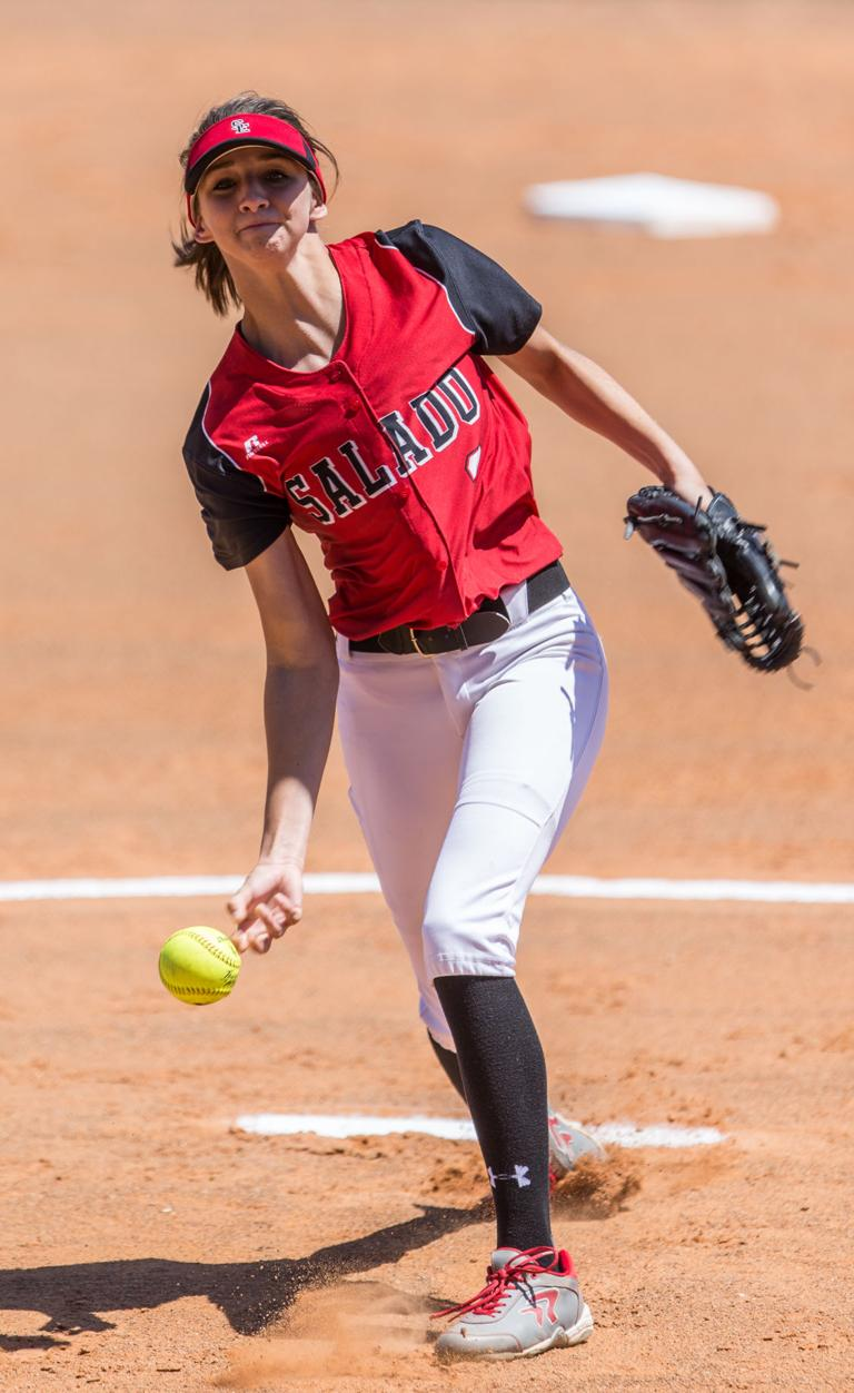 ALL-AREA SOFTBALL: Florence's Gray, Salado's Hill share pitching honor