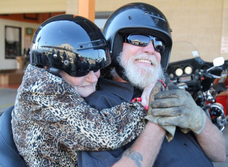 Year in Photos - Harley Birthday Ride