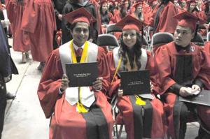 Heights HS graduation 2014