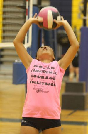 Copperas Cove Youth Volleyball Camp