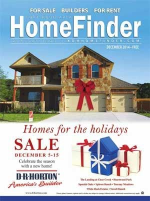 December Issue of the Killeen Daily Herald's Fort Hood Area Homefinder.