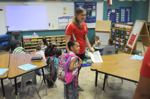 First day of school - Fowler Elementary
