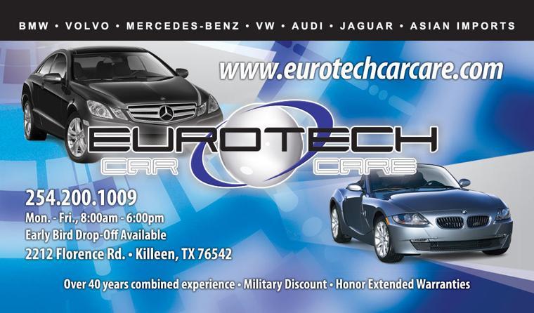 Car Repair Killeen Tx 254-200-1009 Eurotech Car Care Mercedes Audi ...