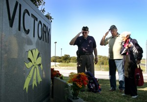 DAV Wreath Laying at Victory Corner