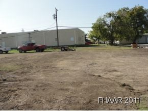 Great potential for this commercial lot in the heart of