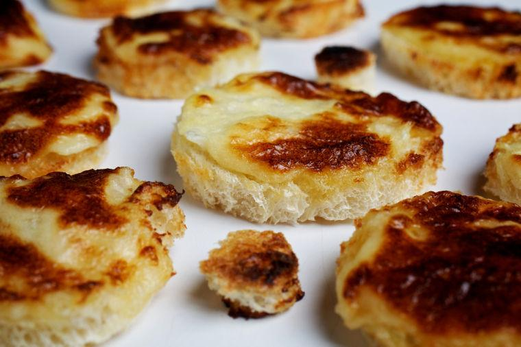 Healthy Food: Parmesan Puffs