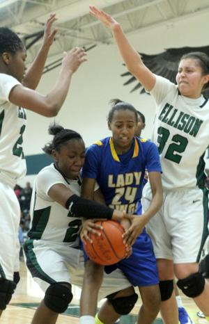 Ellison vs Copperas Cove Basketball