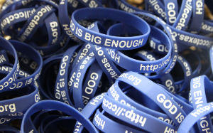 God Is Big Enough Bracelets
