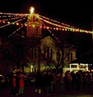 Lights in Lampasas