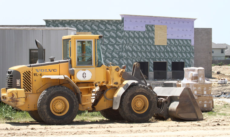 Heights' Sam's Club Construction