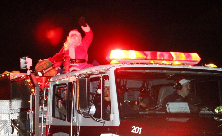Santa Tour in Heights